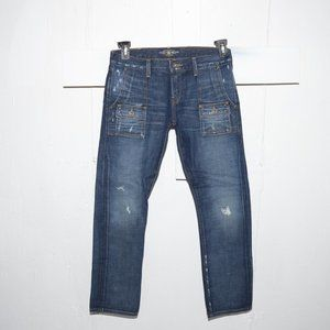 Lucky brand porkchop womens jeans size 4 S 5544